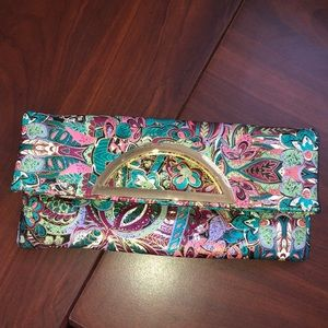 🌸🍃 Charming Charlie Colorful Clutch 🍃🌸